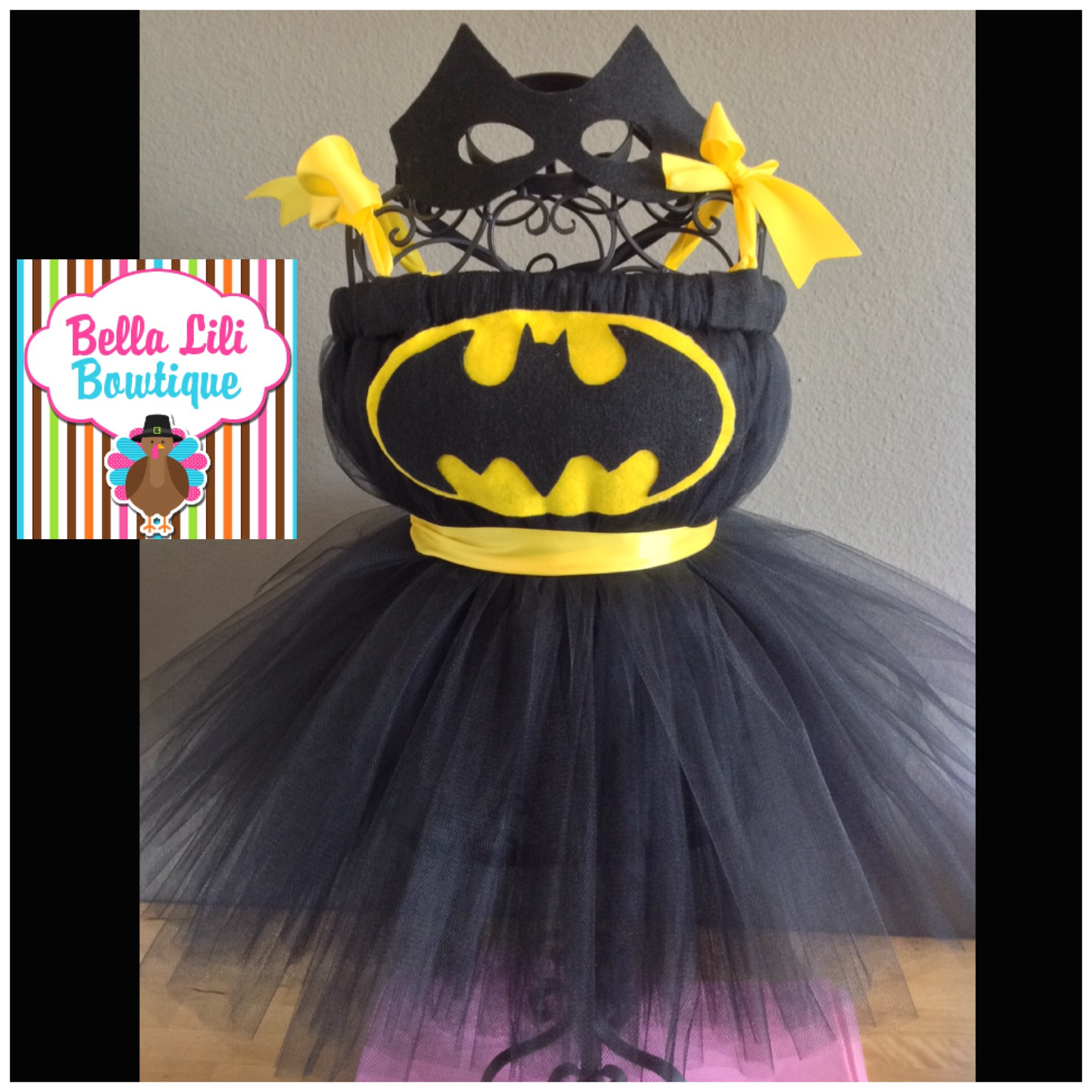 bat girl tutu halloween costume baby costume superhero costume