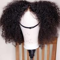 Human Hair Wig (Handmade) short length  - Thumbnail 3