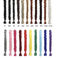 Box braids wig (handmade) - Thumbnail 3