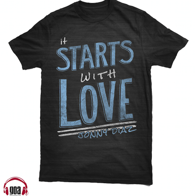 Starts with love t-shirt