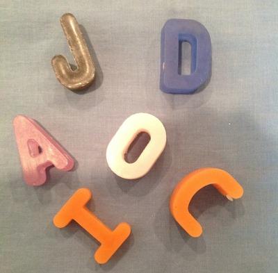Alphabet Soaps (26)