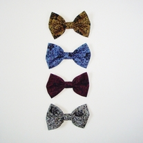 Mini dark lace bow pack