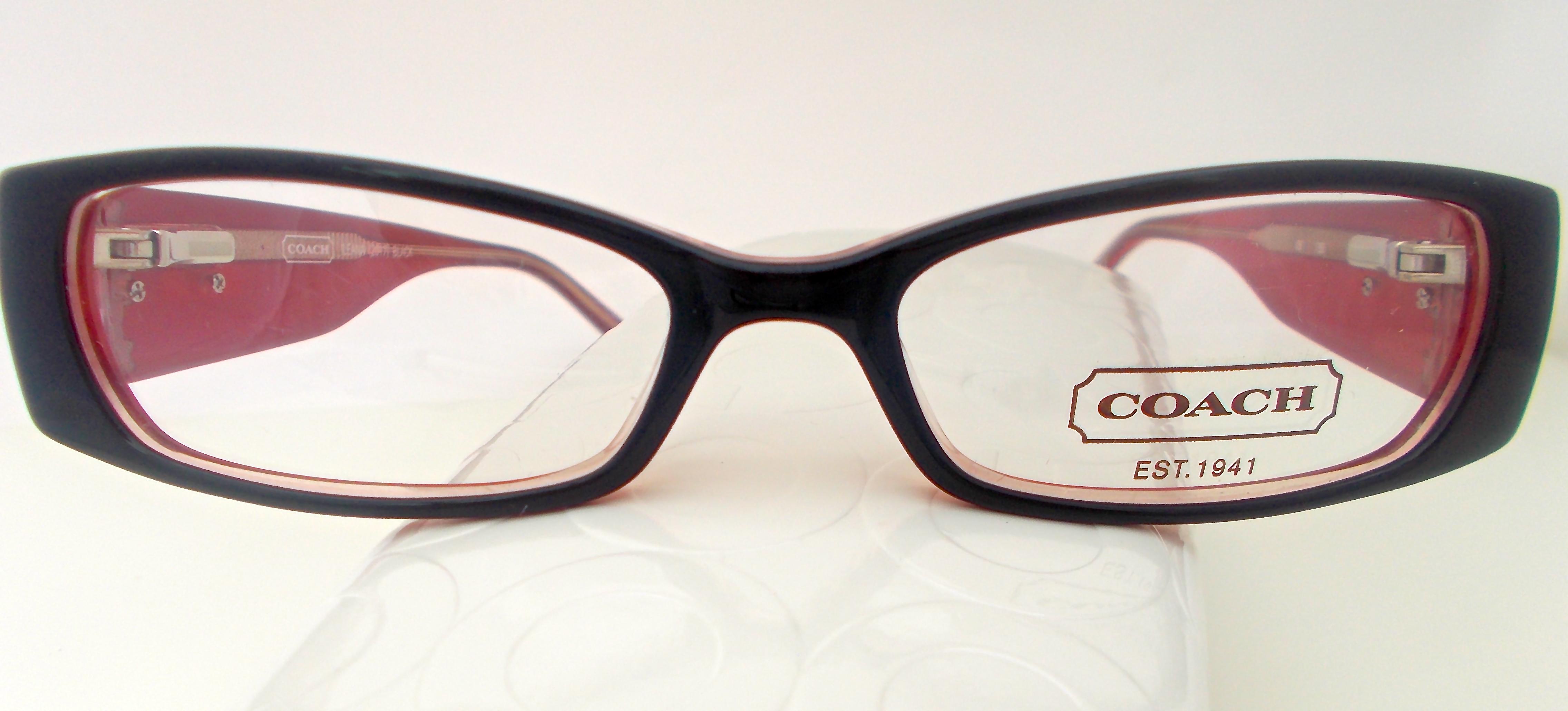 Coach Ladies Eyeglass Frames : H&S Optical Coach Womens Ileana (2017) Black Eyewear ...