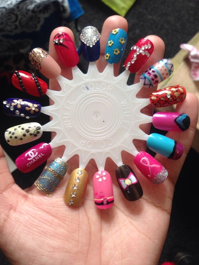 Nail designsnail art customised false nails nail designsnail art customised false nails prinsesfo Image collections