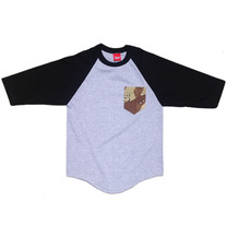 Camo Pocket Baseball Tshirt