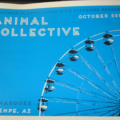 Animal collective 10/22/13 @ marquee theatre