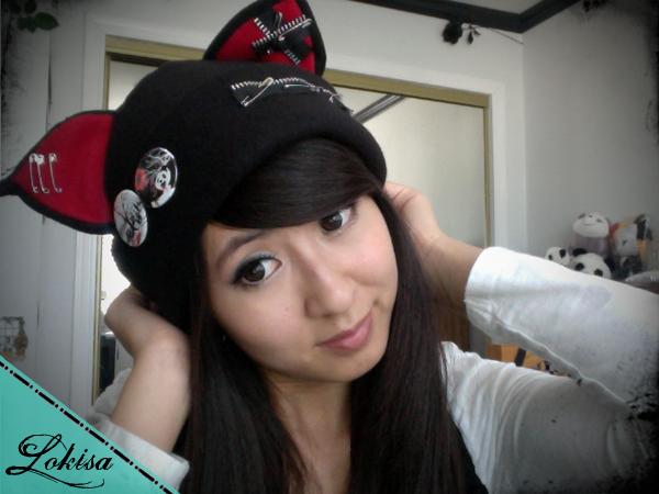 Anime Kitty Ears Cat Kitty Fleece Hat Anime