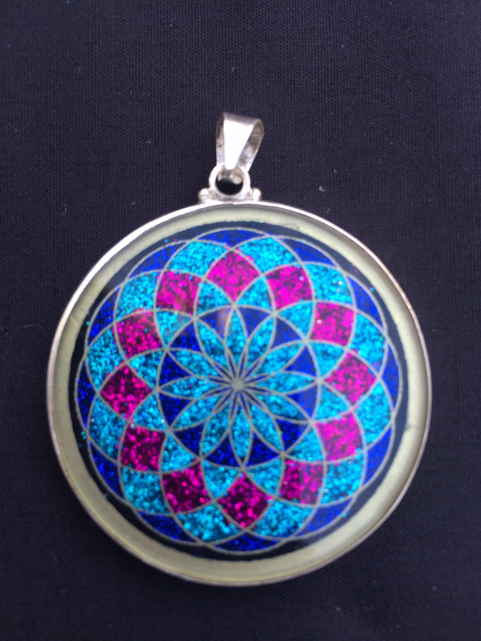 Tube torus sacred geometry pendant rainbows of healing boutique tube torus sacred geometry pendant aloadofball Gallery