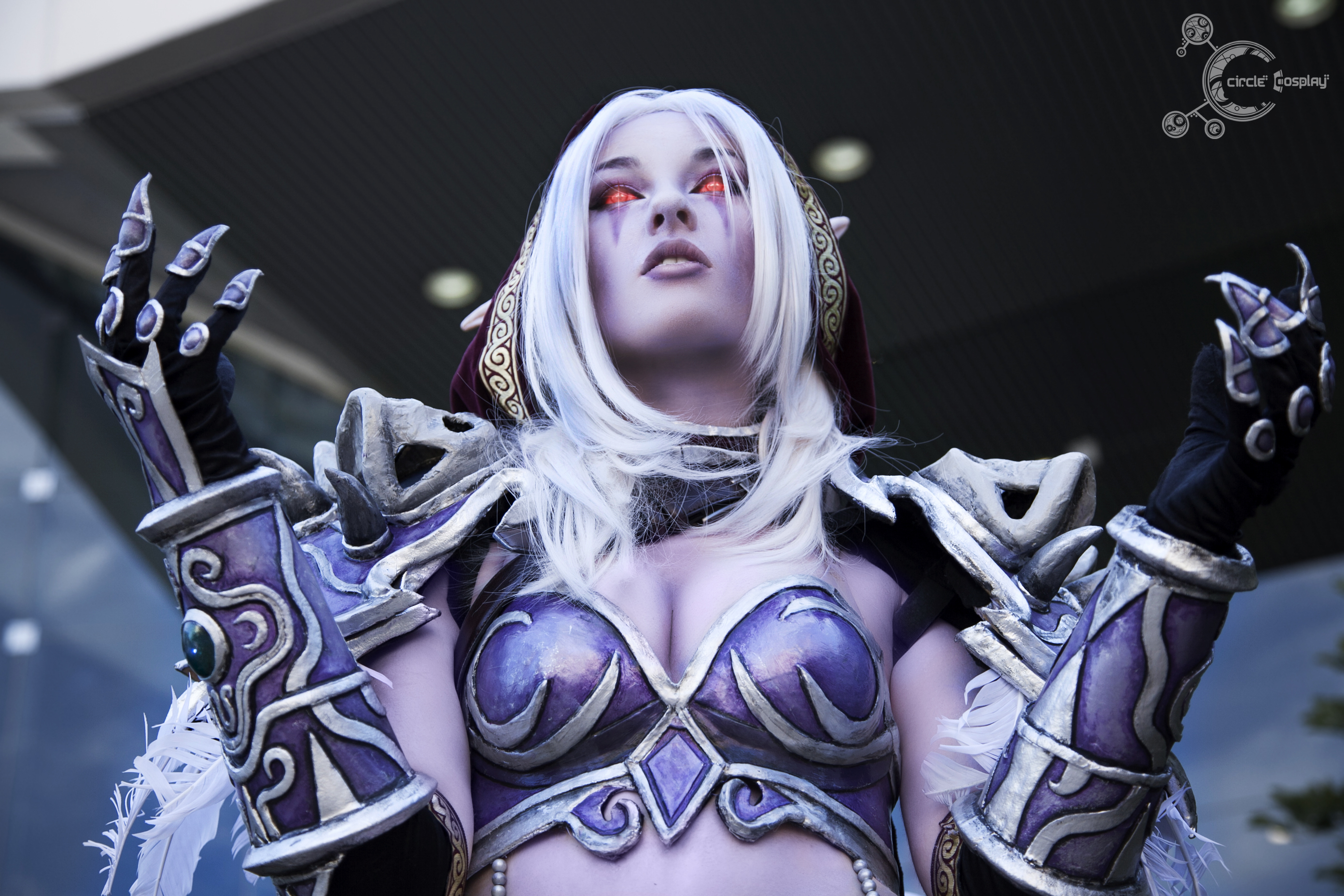 Lady Sylvanas lingerie porn photo