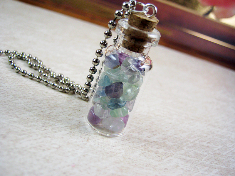 bottle with diy item glass pairs pack cap jars pendant vials mini wishing flower vintage