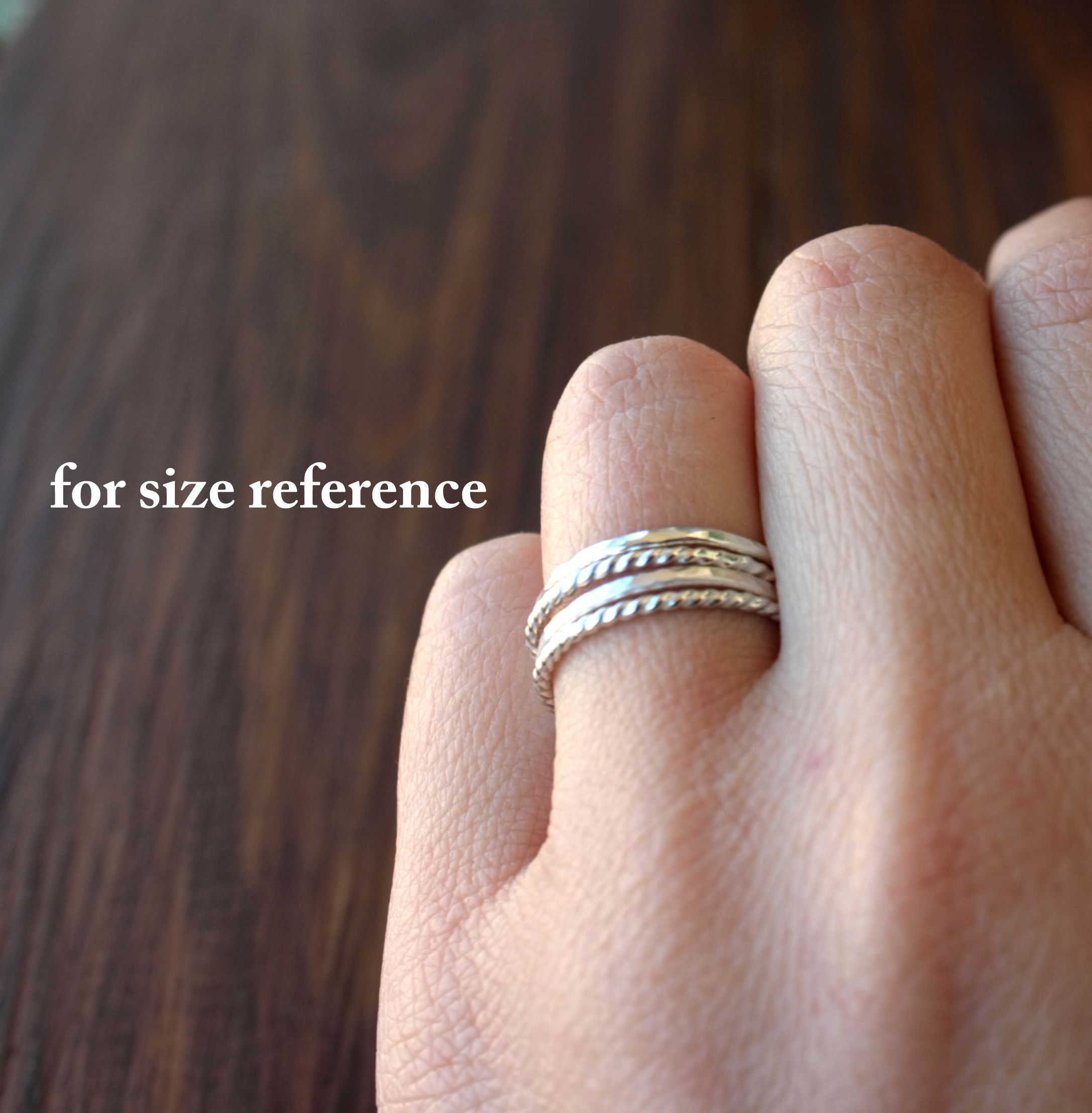 gold thin product stacking ring smooth rings knuckle original simple