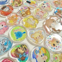 10 PVC (Plastic) Sticker Flakes
