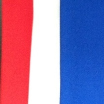Red, White, and Blue Accent Fabric