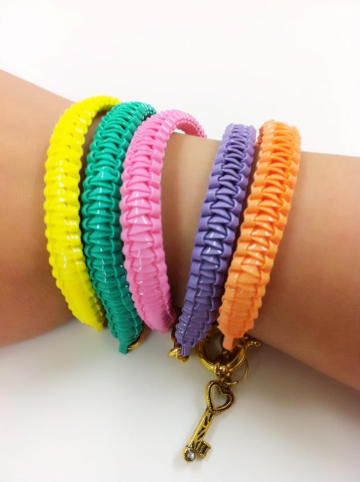 fashion Jewelry colorful bracelets chain HelloBrina