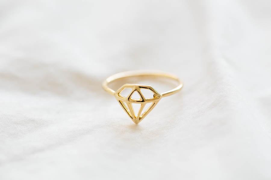 cute open diamond ringbridesmaid giftbridesmaids ringbridal ring