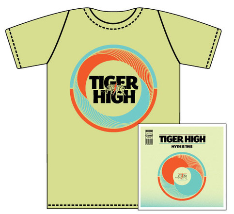 "Tiger High - ""Myth Is This"" CD & T-Shirt Bundle"