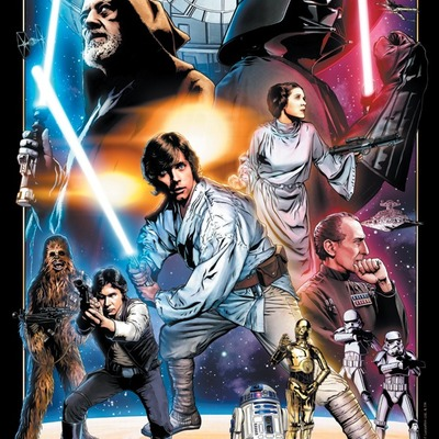 A new hope 30th anniversary star wars celebration europe limited edition print