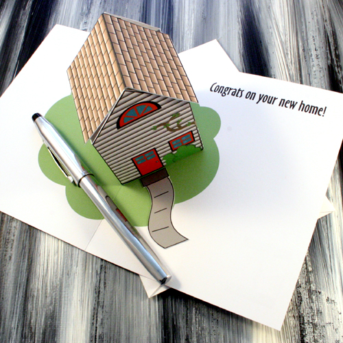 Pop up house greeting card congrats on your new home greeting pop up house greeting card congrats on your new home m4hsunfo
