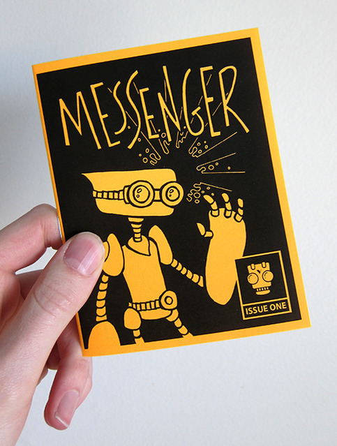 """Messenger"" Mini Comic - Issue One"