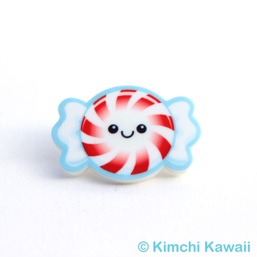 Cute peppermint candy acrylic pin kimchi kawaii online store cute peppermint candy acrylic pin thumbnail 1 sciox Gallery