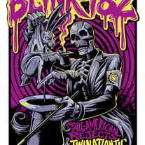 Blink-182 Sheffield UK Print