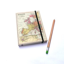 Europe Map Journal A6