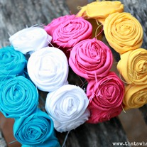 Rosette Cuff Bracelet - Summer Fun Collection