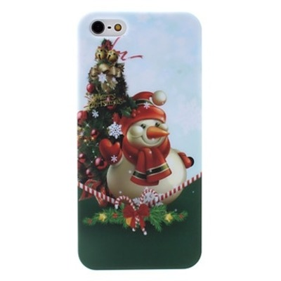 Iphone 5/5s - snowman christmas holiday decorative case