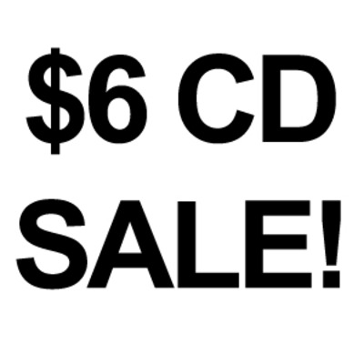$6 physical cd's!