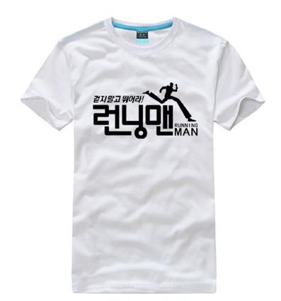 running man logo t shirt female cutting on storenvy