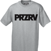 Przrv_logo_tee_grey_medium