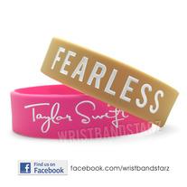 Taylor Swift Bracelet on Fearless Taylor Swift Bracelet Wristband