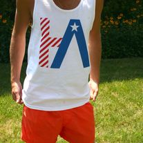 HA - All American - Logo Tank