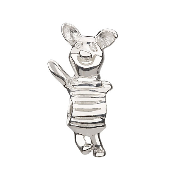piglet retired chamilia sterling silver bead charm