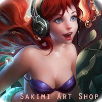 sakimichan art shop on storenvy