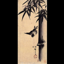 Sparrow_and_bamboo_2_by_hiroshige
