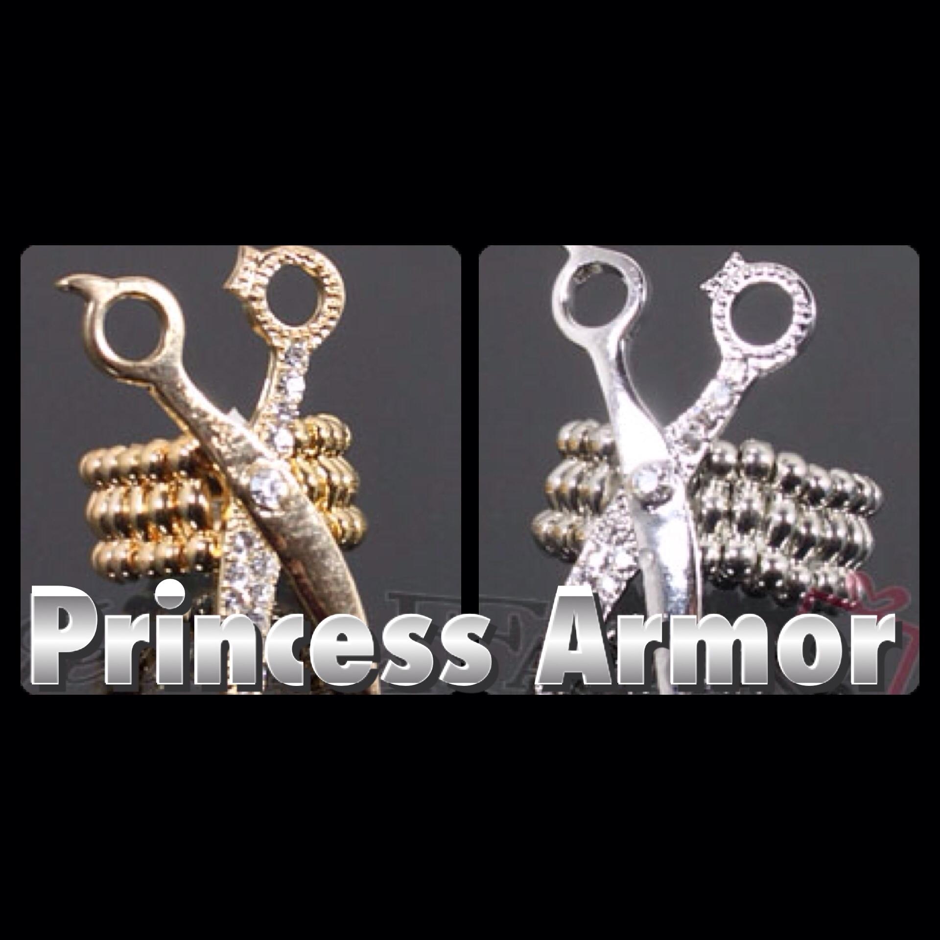 Gold Or Silver Tone Scissor Stretch Ring Tde 183 Princess