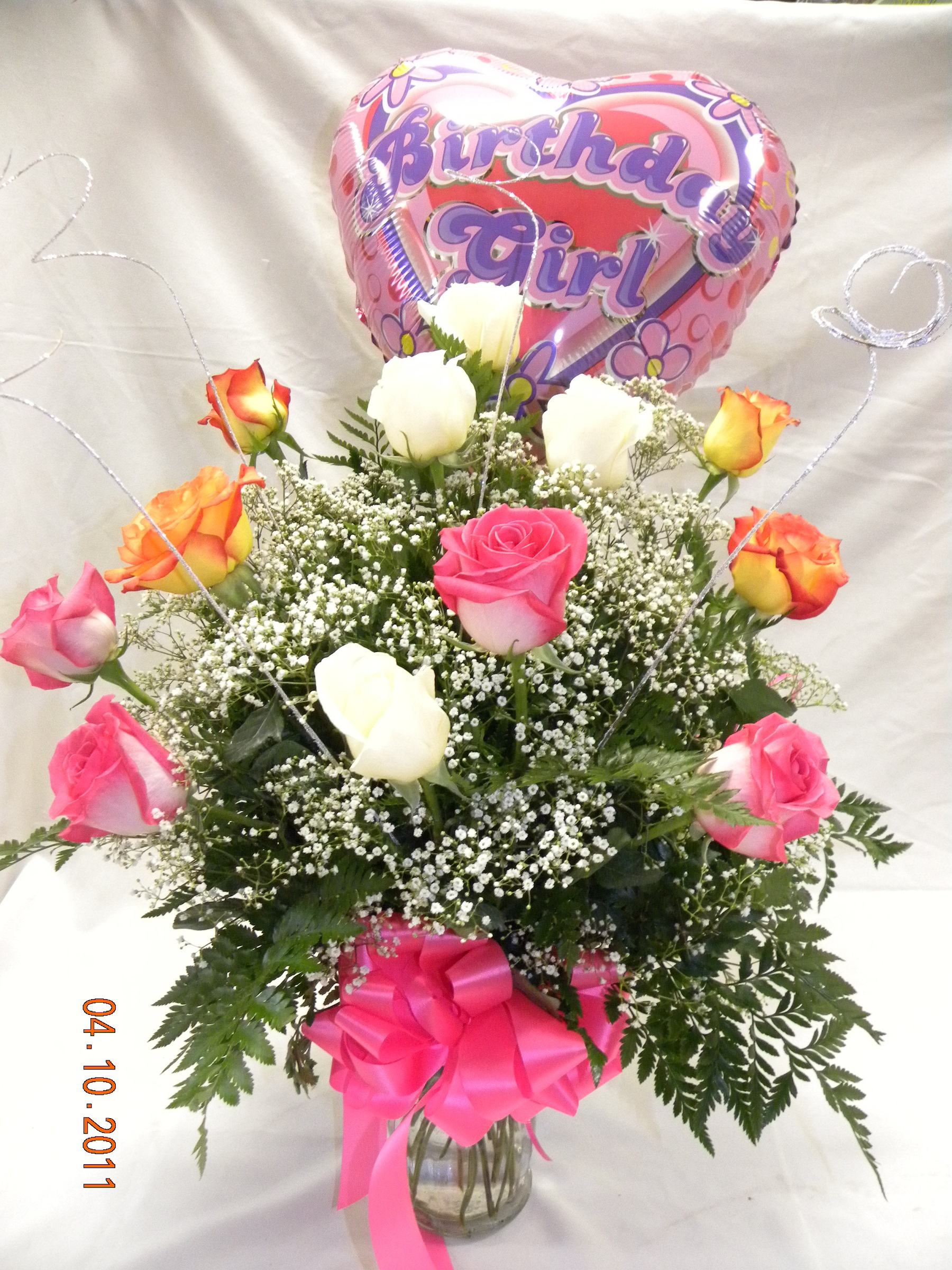 Brilliant Birthday Blooms Anns Flowers And Gifts Online Store