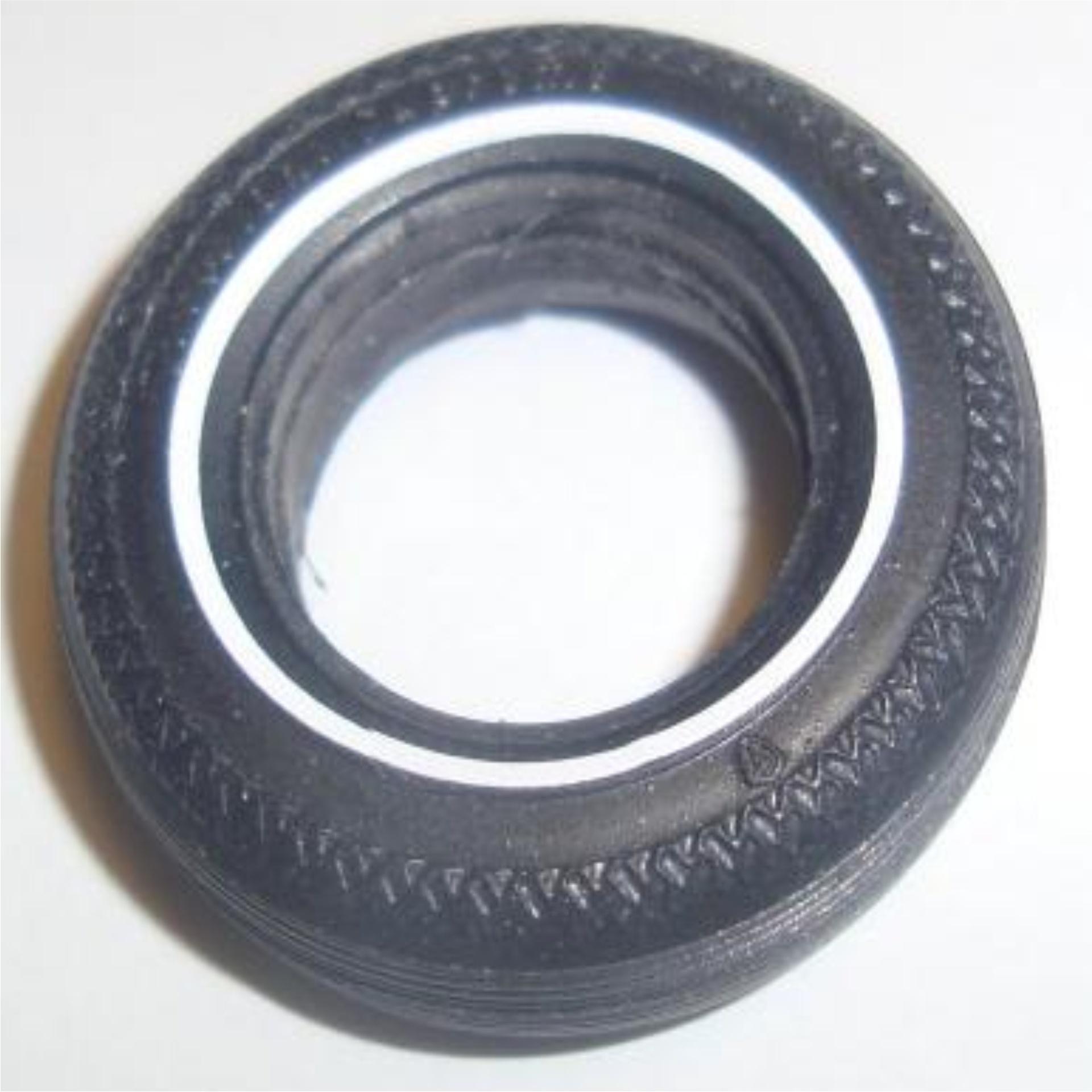 Vinyl Blueline Decals for AMT Firestone Supreme Tires
