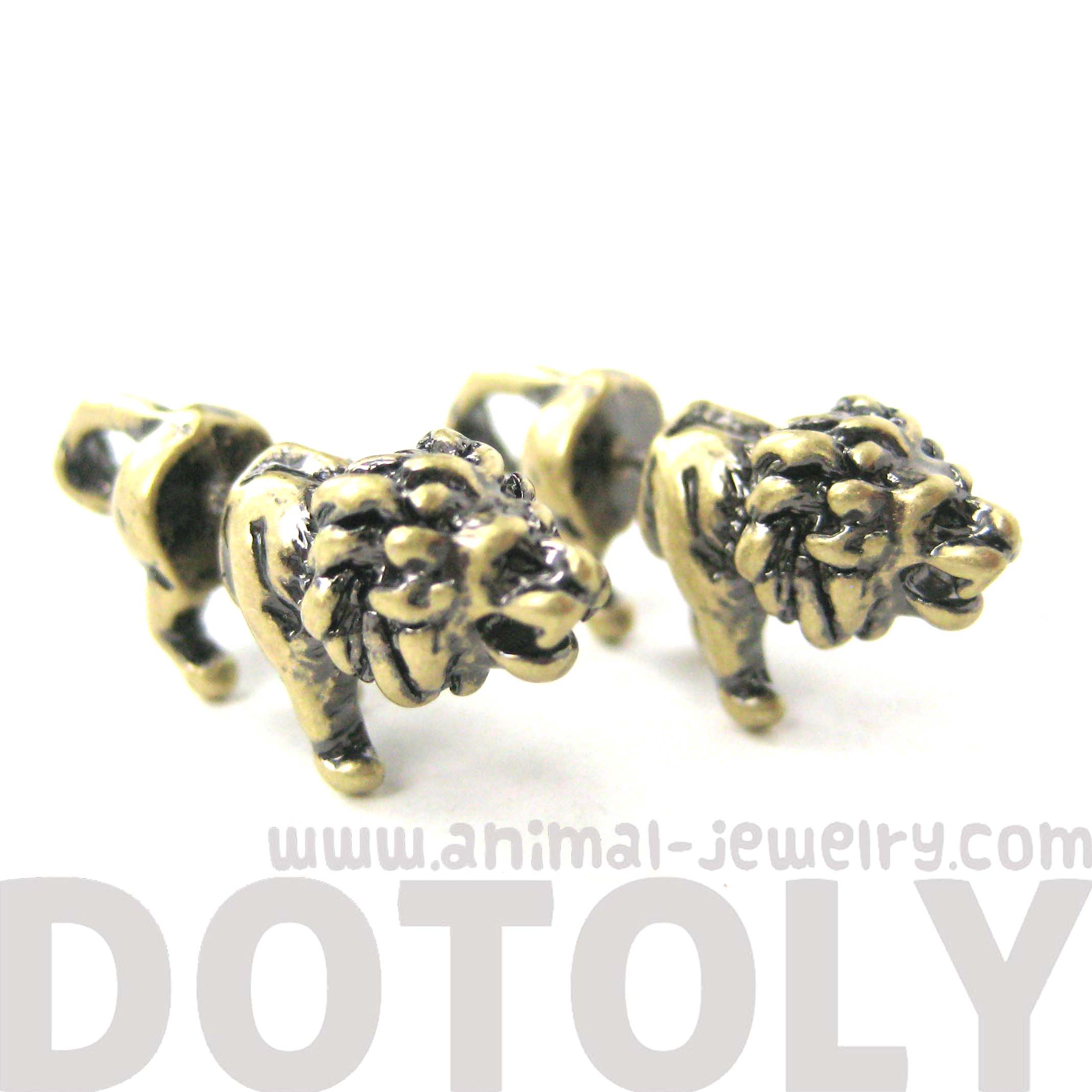 gauges that look like earrings 3d realistic animal stud earrings in 6158