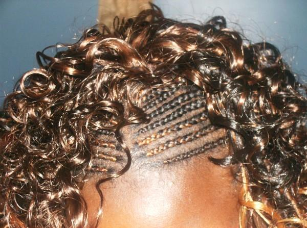 Half Cornrows With Sew In · Sewin Weave And Hair Braiding