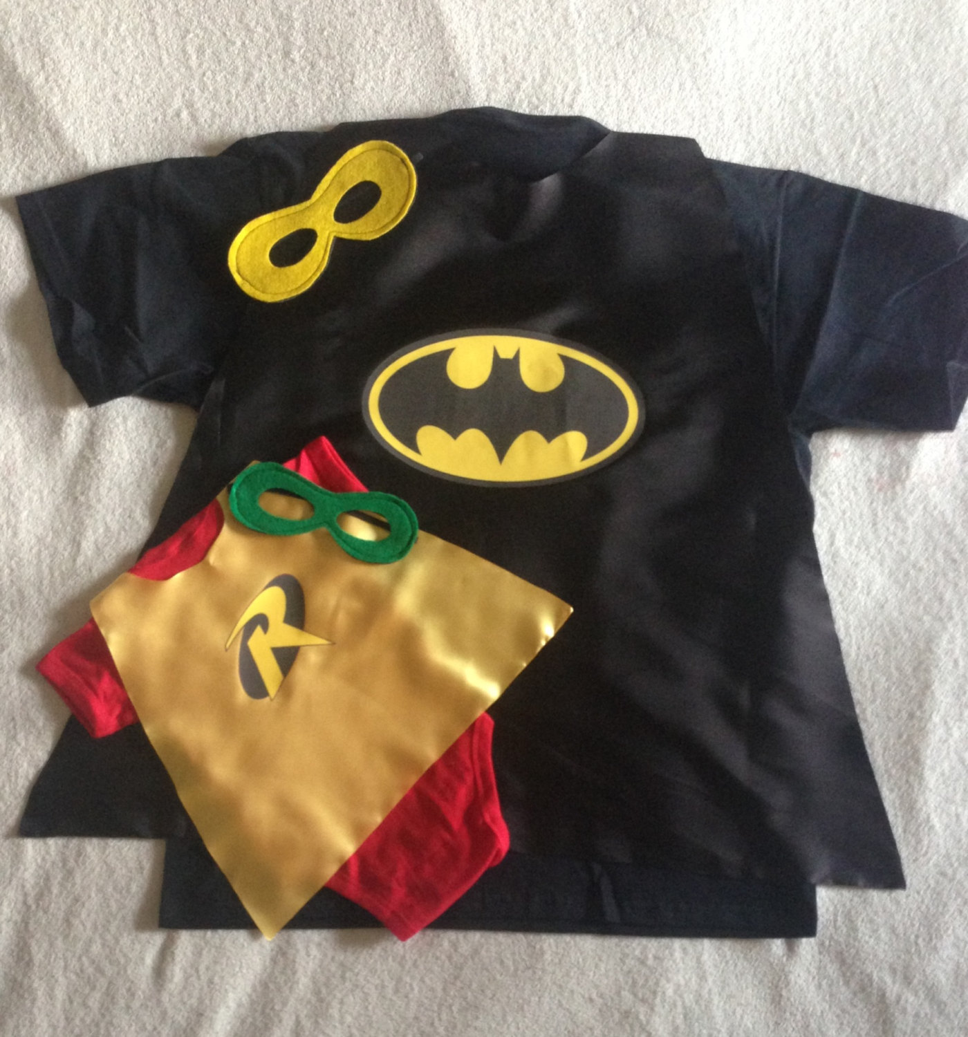 Top New Dad Gift Set or New Big Brother, Batman and Robin T-Shirt with  DA65