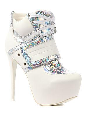 97a3aaedd45 Privileged  SWAG shoe in Hologram White · Stush Fashionista · Online ...