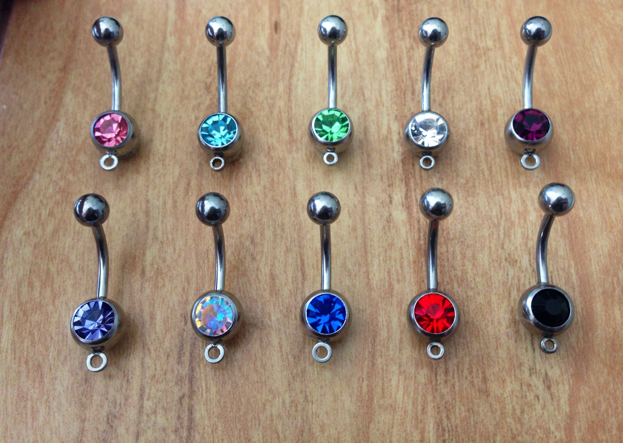 Belly Ring Bar Non Dangle From Country Wind