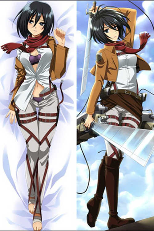 Brand New Mikasa Ackerman Attack On Titan Dakimakura