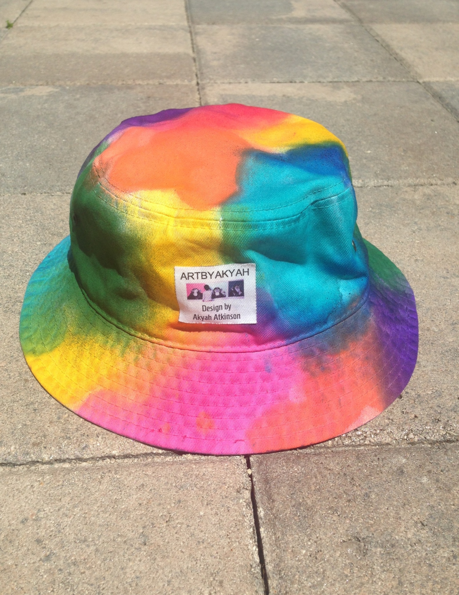 29e29181d47889 Tie-dye Bucket Hat on Storenvy