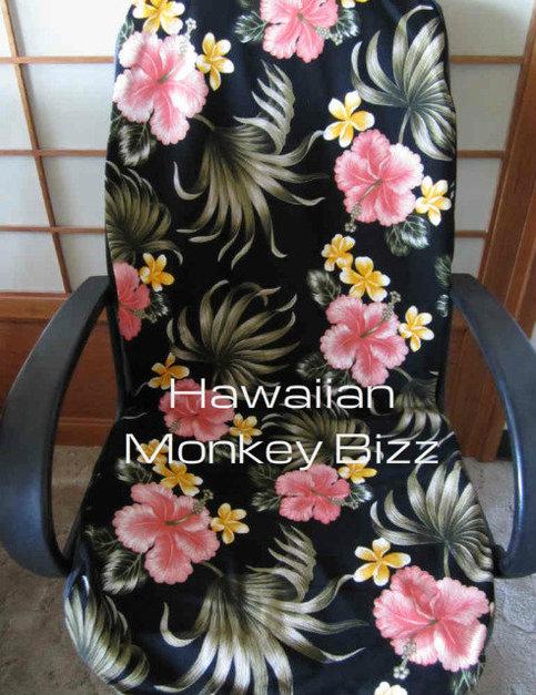 Quot Black Plumerias Quot Hawaiian Car Seat Covers 2pc Bark