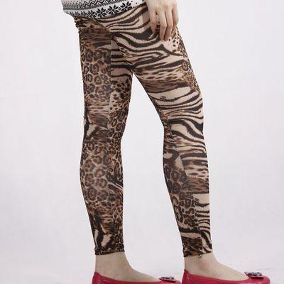 ddf2a5df33 ... Leopard and tiger print tights