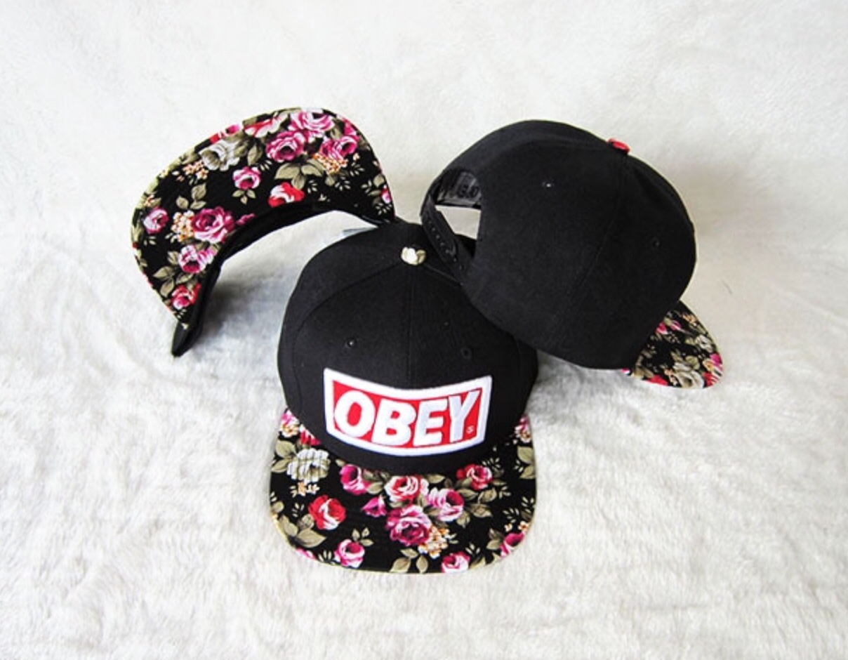 e5df472c98a Floral Obey SnapBack on Storenvy