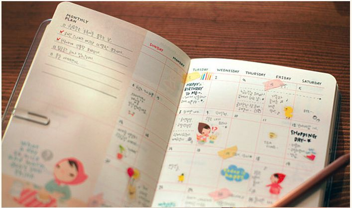 ... Hood DIY Planner, Notebook, Journal, diary, FREE Stickers on Storenvy